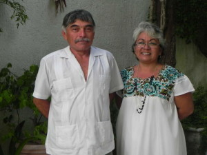Pablo and wife, Neri