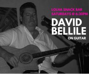 David Bellile Plays at LolHa Snack Bar @ Lolha Snack Bar